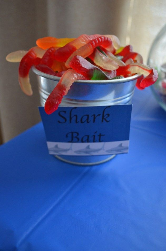 A Shark Infested 7th Birthday Party - Finding Your Joy in the Journey