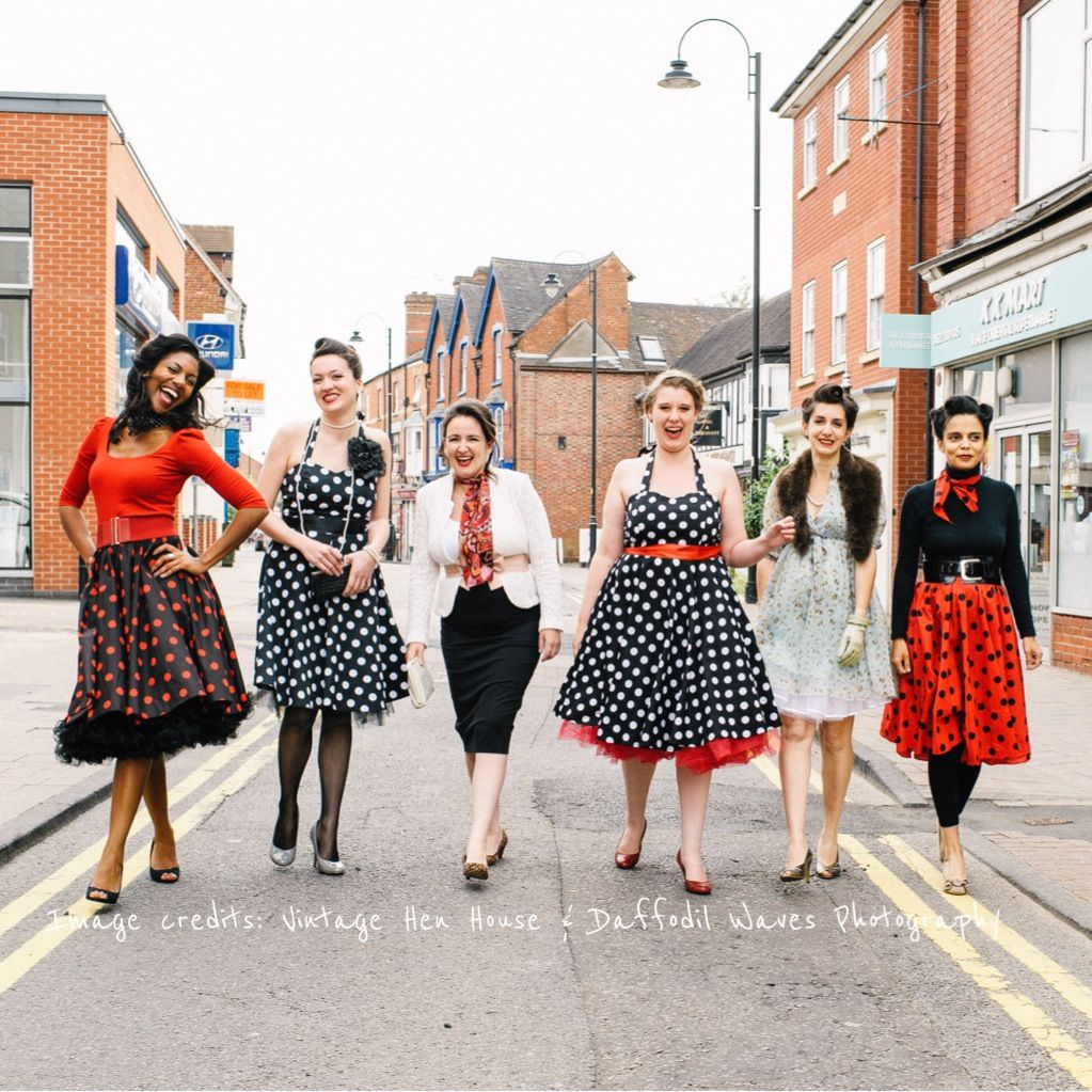 50 S Hen Party Hen Party Rock N Roll Dress Vintage Inspired Wedding