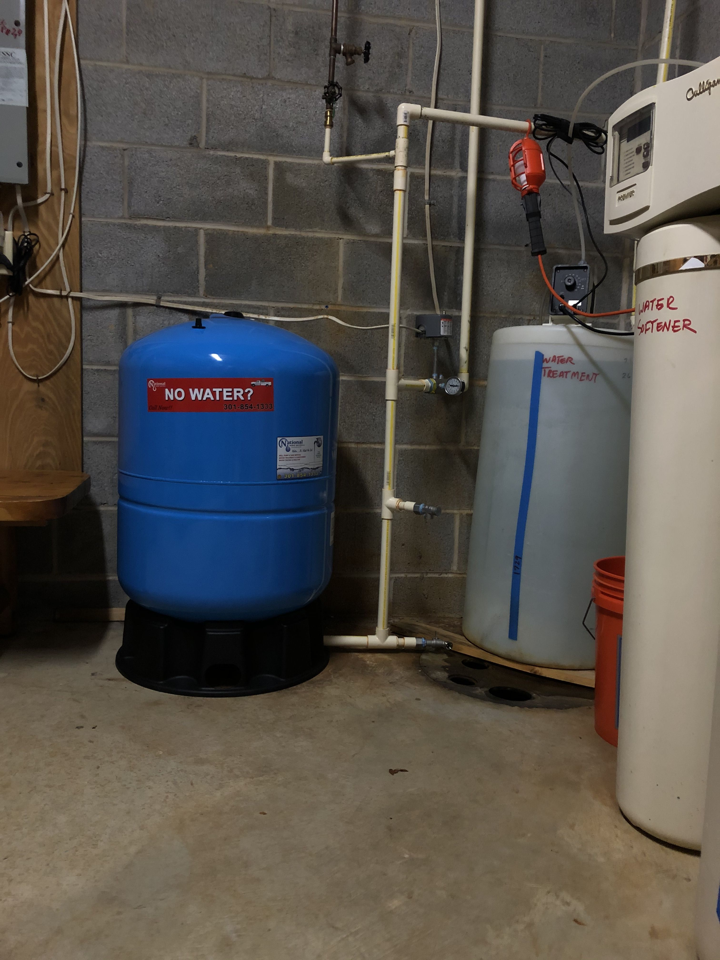 Home Well pump, Water quality, Pressure tanks