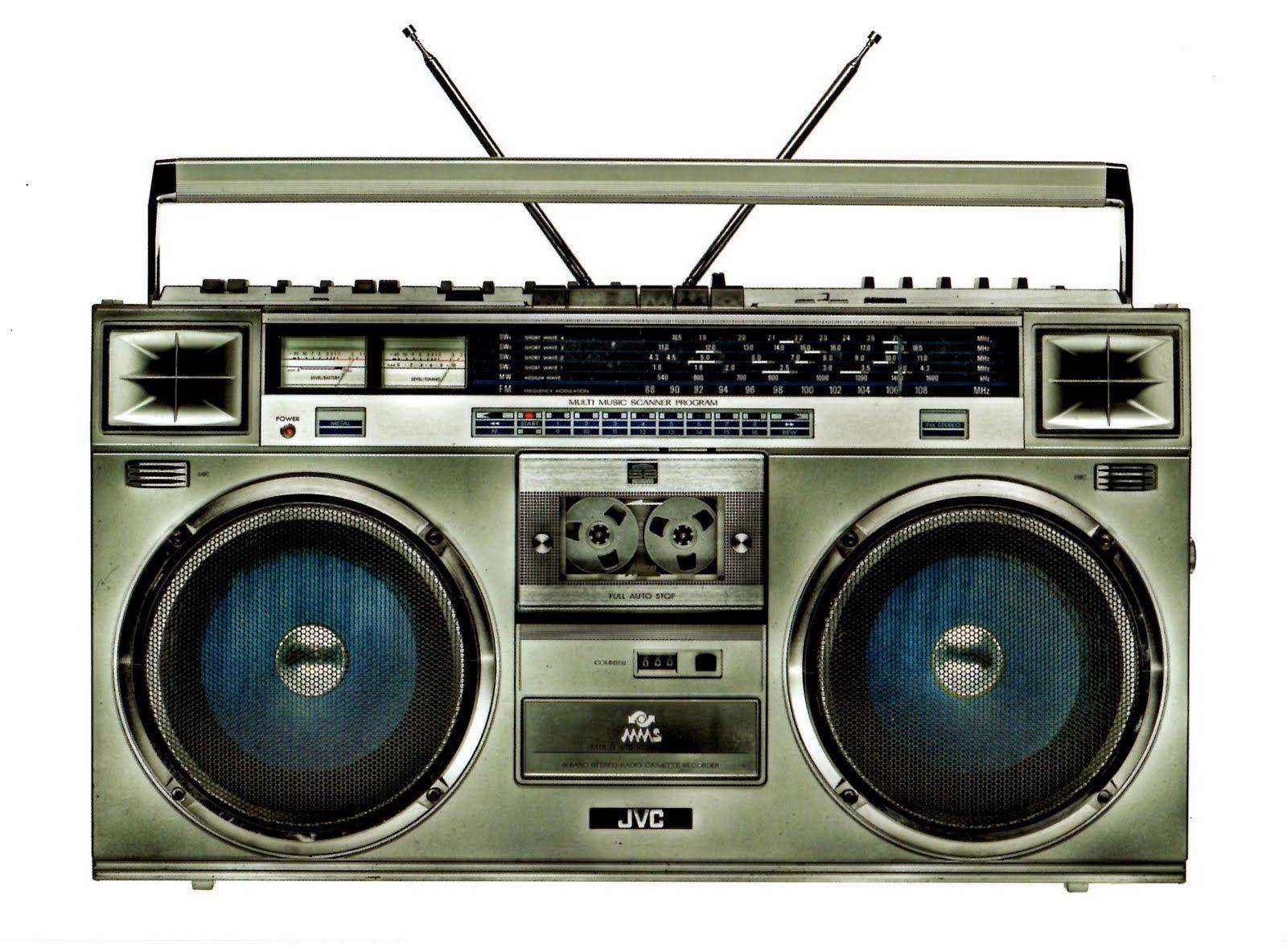 43 best 80's 90's boom box radio images on Pinterest ...  |80s Boombox