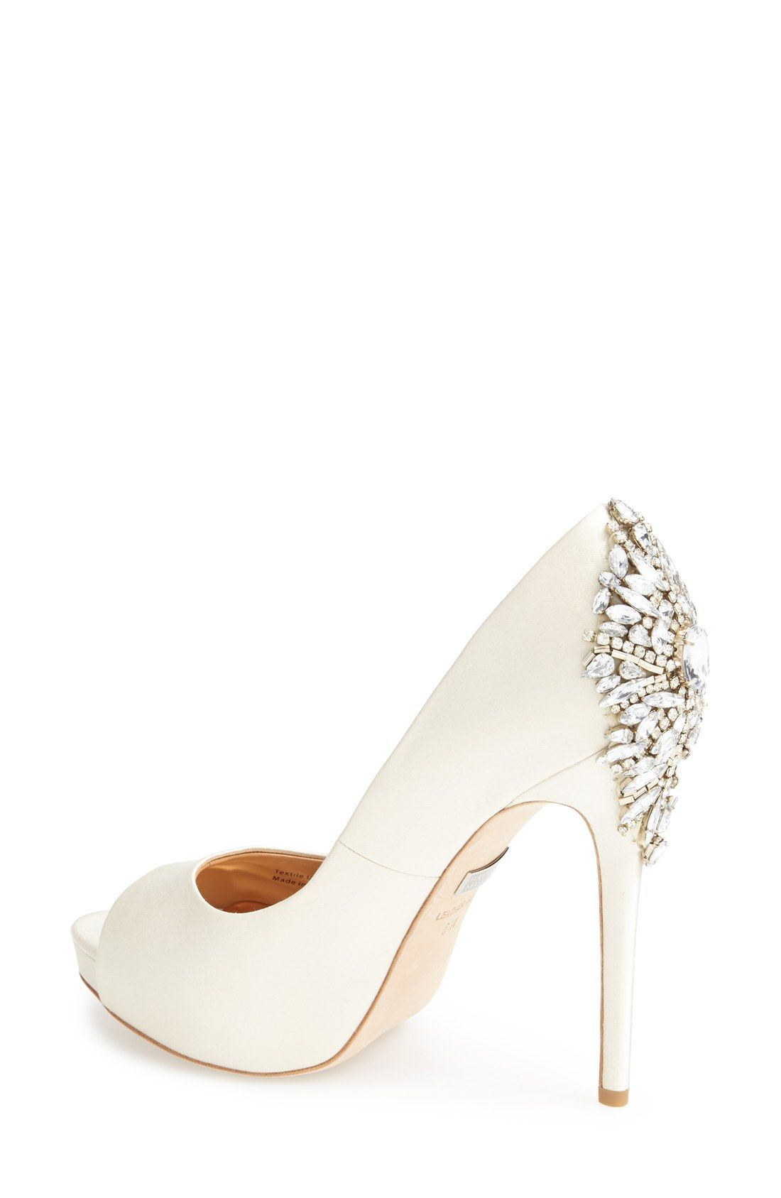 Left speechless by these jaw dropping heels The crystal detailing