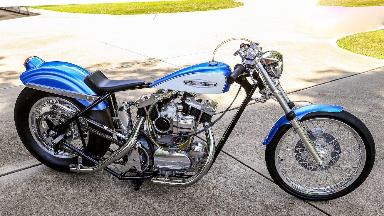 1972 harleydavidson nitro nostalgia drag bike presented