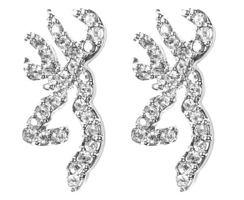 Browning Clear Bling Earrings @ $21.99