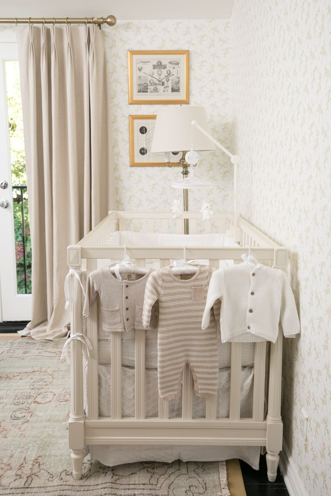 a sweet nursery for fashion journalist louise roe on Elle Decor Nursery id=27001