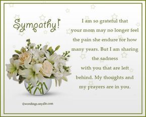 Sympathy Messages For Loss Of  Sympathy
