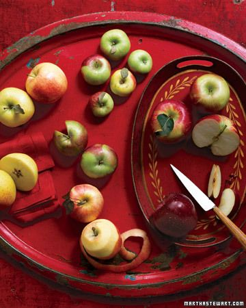 Apple-picking season begins in late August or early September and lasts through November.