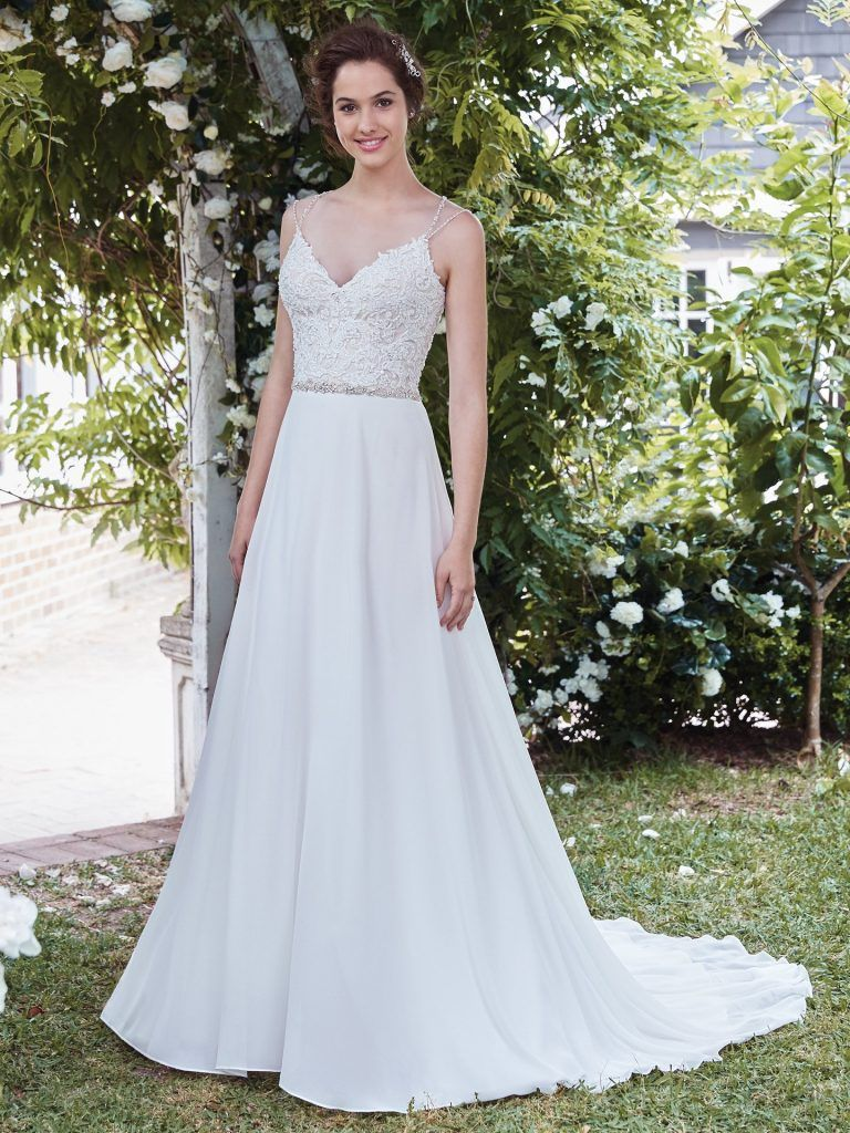 Wedding dresses with straps  Diana  Brides Selection  BS  Rebecca Ingram  Pinterest  Diana