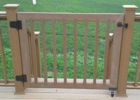 Best This Customer Had Menards Ultradeck Cedar Railing We 400 x 300