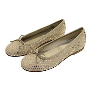 Bonpoint Beige Dot Ballerinas   <LADIDA SS16>   Girls shoes