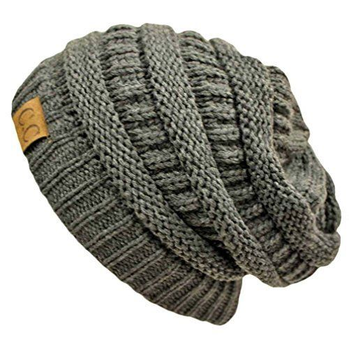 Photo of Stripey Knit Slouchy Beanies – Free Pattern on Moogly