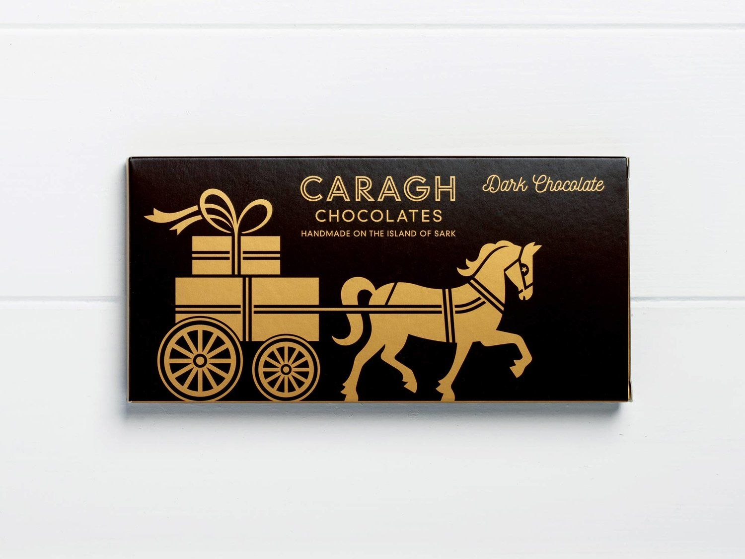 Caragh Chocolates by Distil. packaging Packaging design