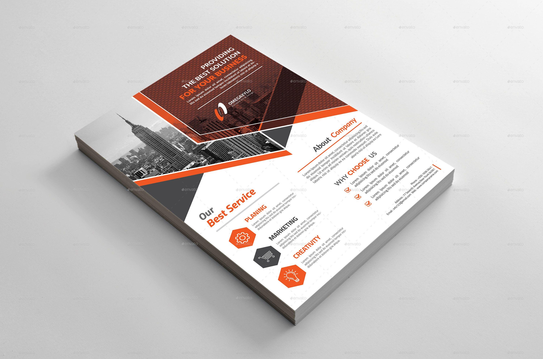 Business Flyer A4 Advert