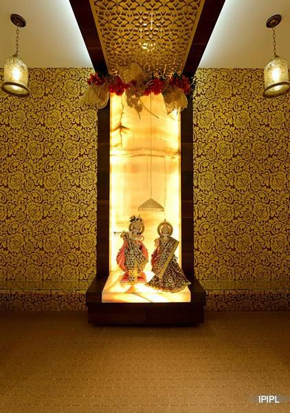 pooja room in onyx - Google Search | pooja rooms | Pinterest ...