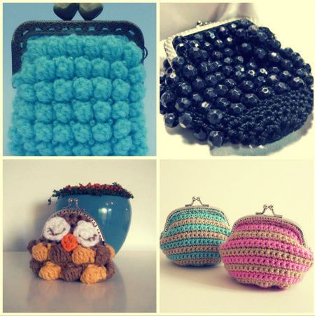 15 Favorite Crochet Coin Purses to Make Saving Pennies Fun Nely
