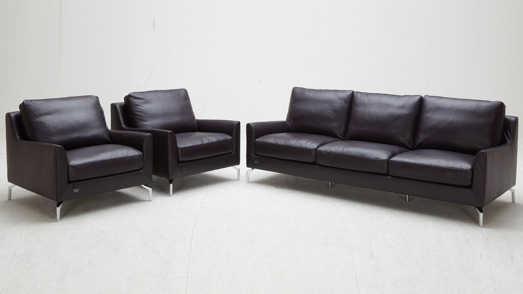 Saxon Sofa Set With 2 Armchairs Living Collection Leather Sofa