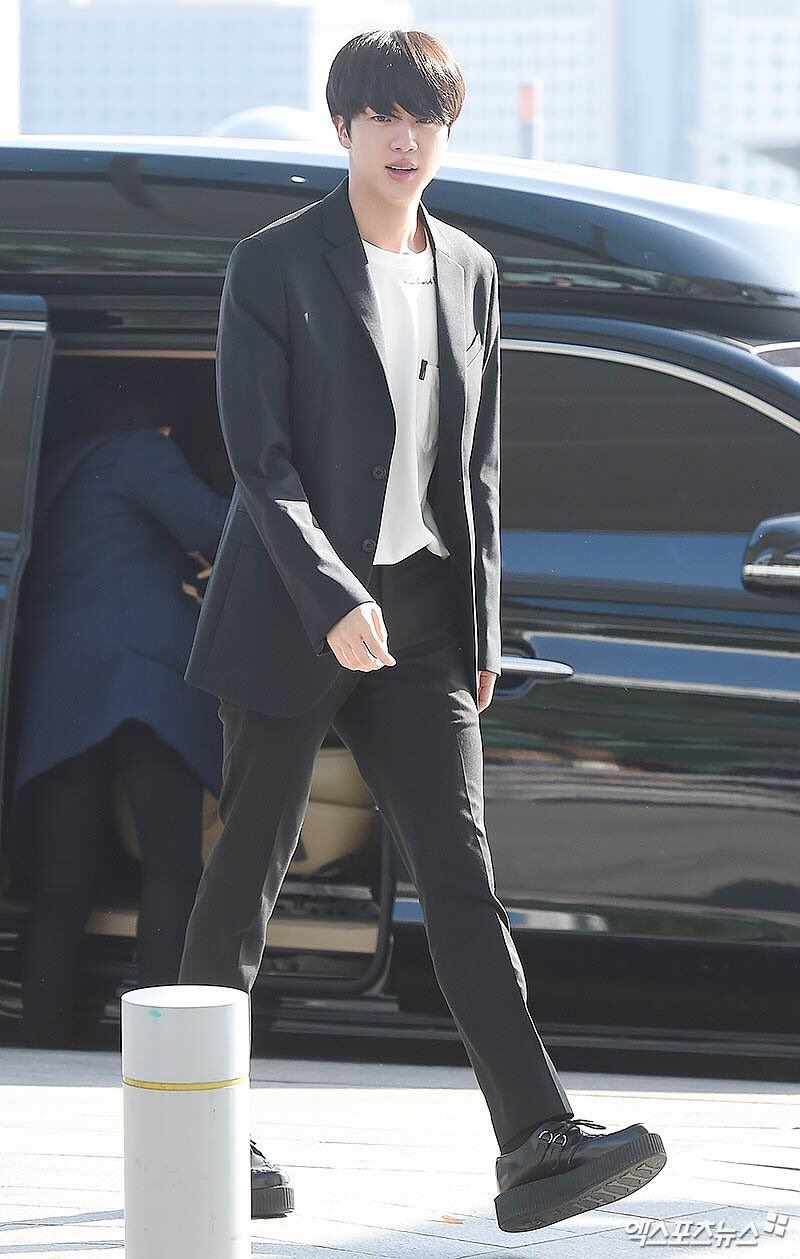 Check this out!: BTS' individual airport fashion update | BTS | Bts