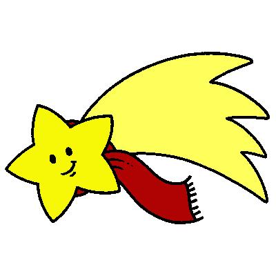 Estrella fugaz animada buscar con google actividades for Estrella fugaz navidad