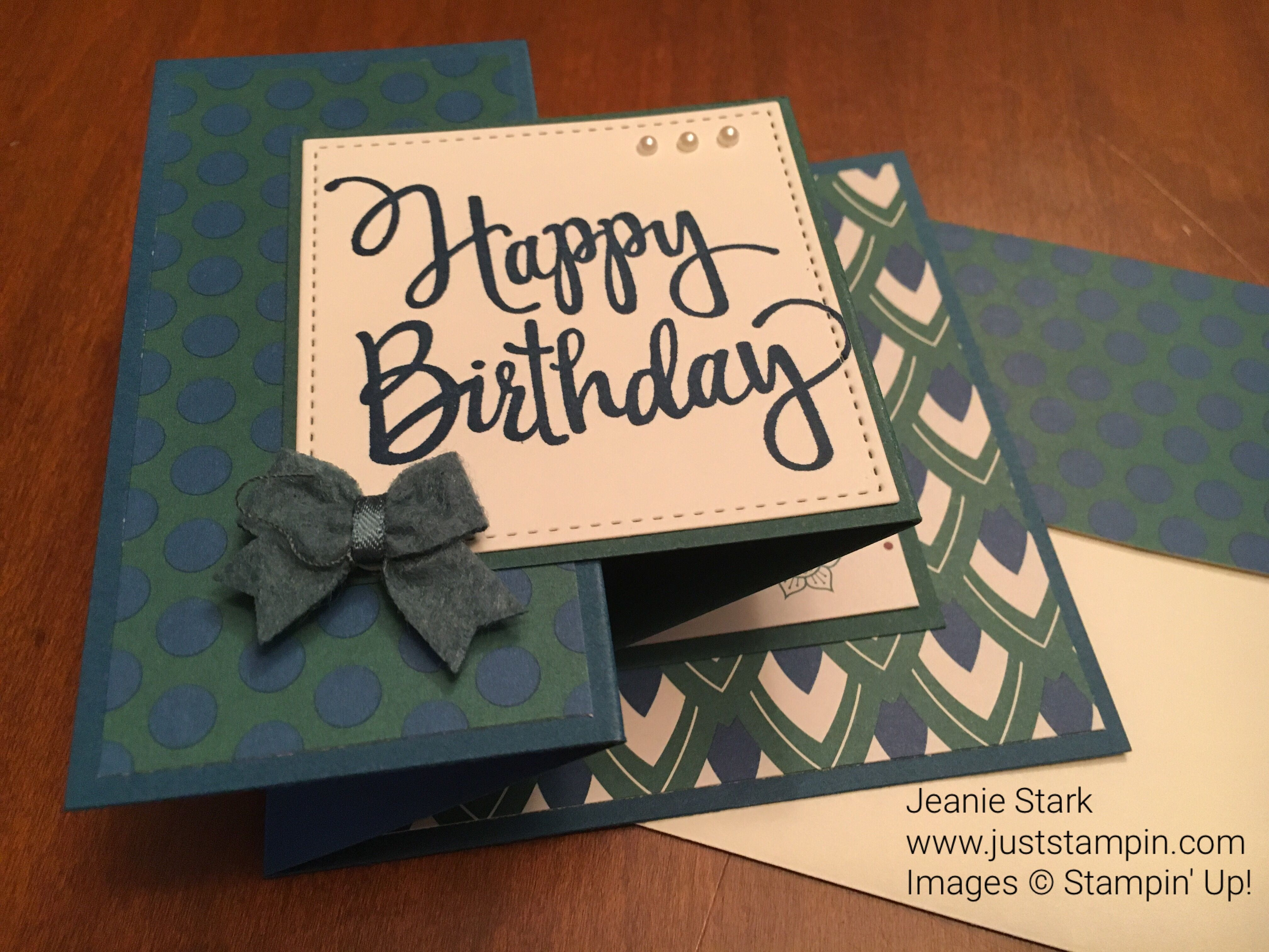 Stylized Birthday Eastern Palace Specialty Dsp Stitched Shapes
