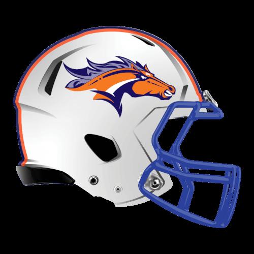 Buckin Broncos Fantasy Football Logo Helmet Fantasy Football Logos Football Logo Football