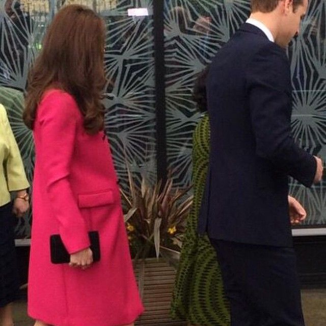 """Kate and william arriving at The Stephen Lawrence centre "" Photo taken by @katesoso972000 on Instagram, pinned via the InstaPin iOS App! http://www.instapinapp.com (03/27/2015)"