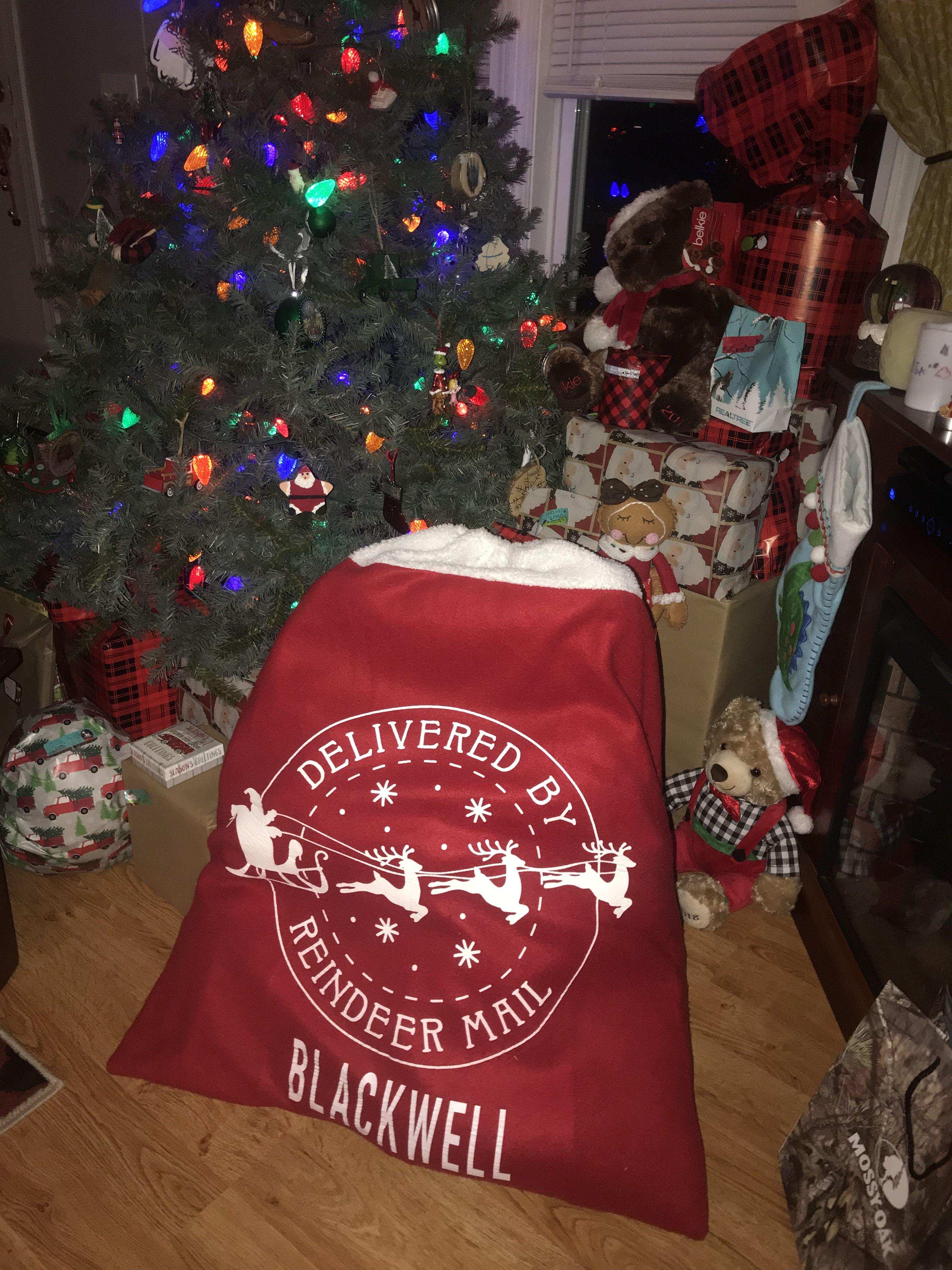 Santa Sack Popular this year