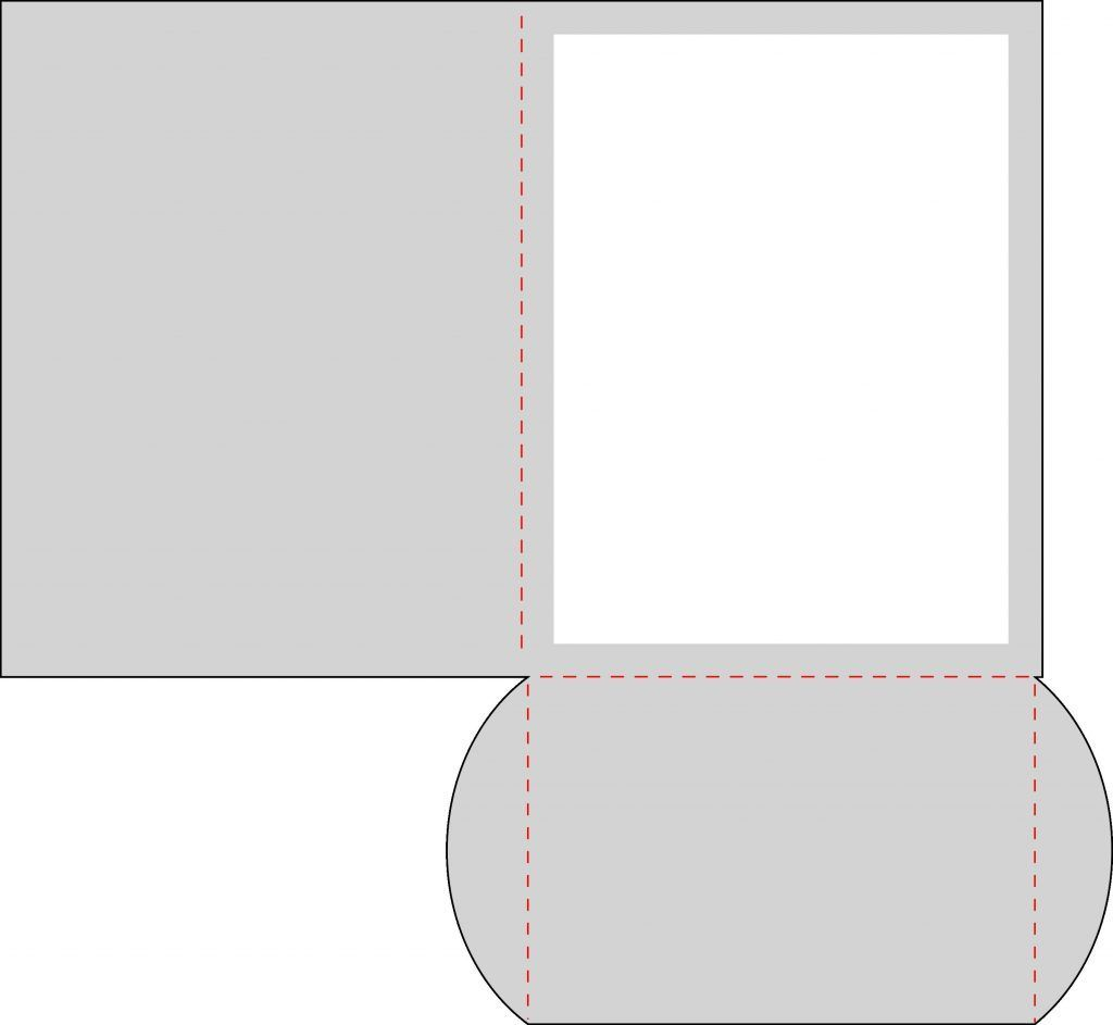 4 25 X 5 5 Pocket Card Template With Svg Download Pazzles Pocket Cards Card Template Cards Handmade