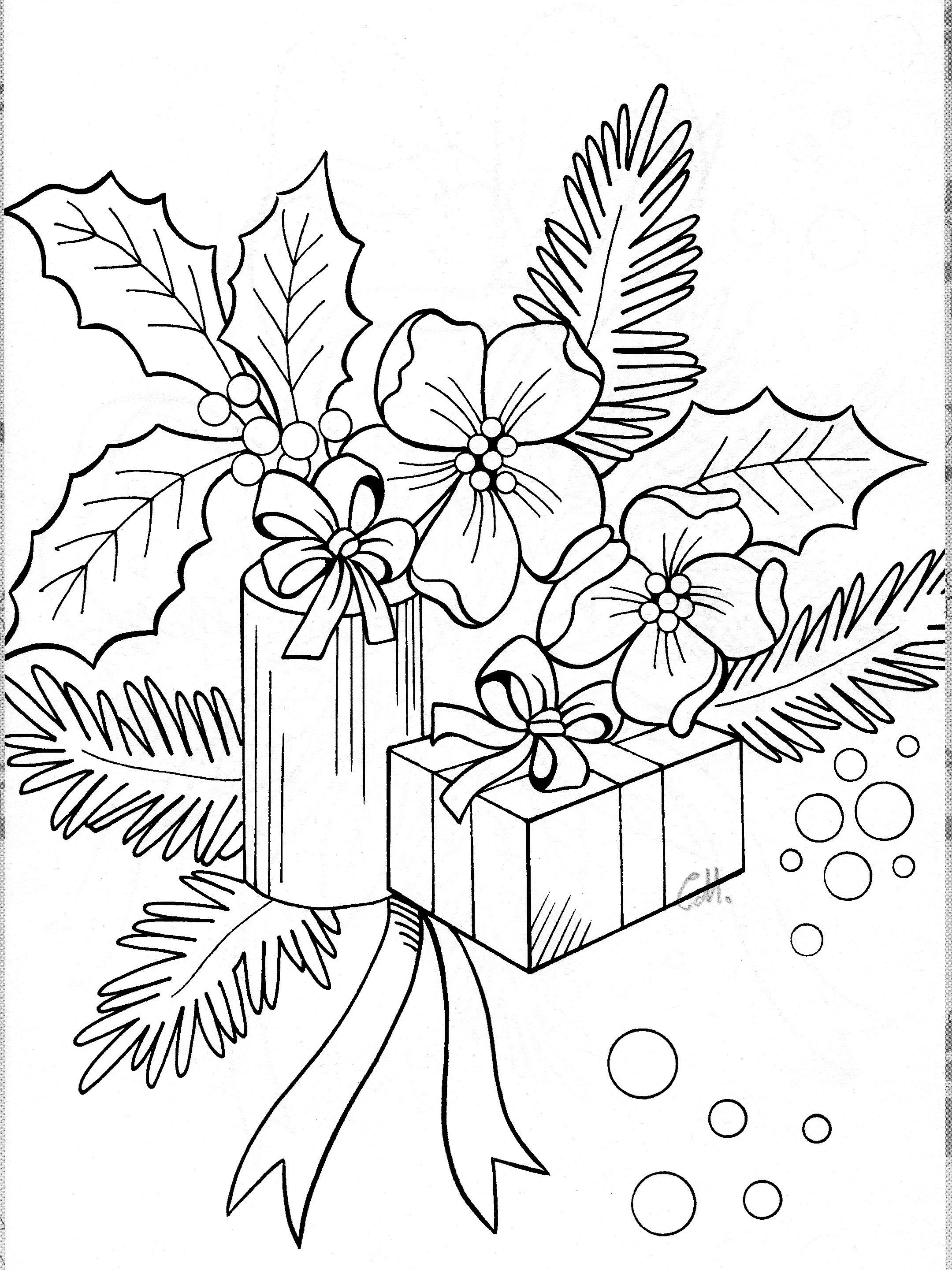 Christmas Coloring Pinterest