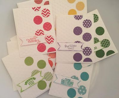Craftin' and Stampin': Paper Fundamentials Card Kit and Instruction Only Sets!!! Get Them While They Are Here!!!