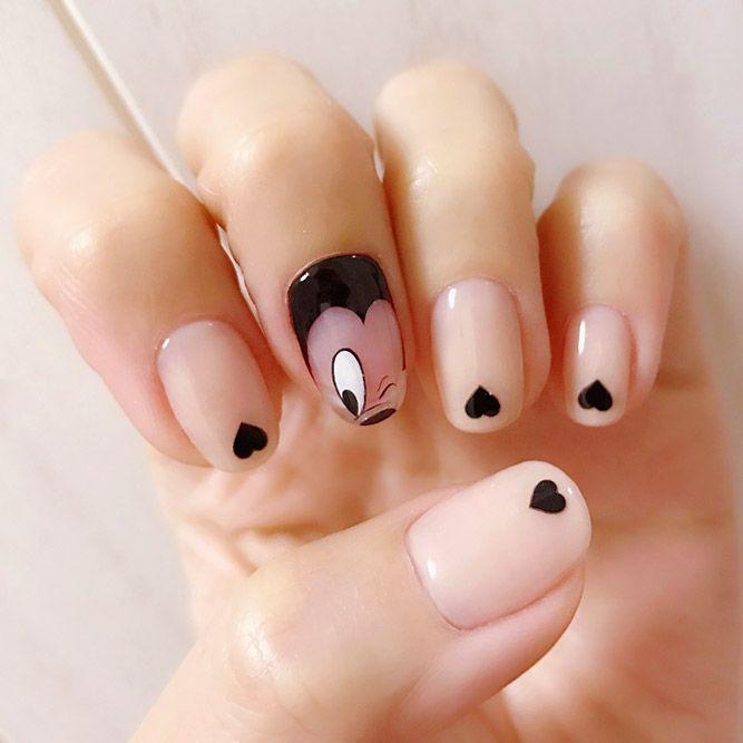 Disney Nails Inspiration For Cure Nail Art | NailDesignsJournal.com
