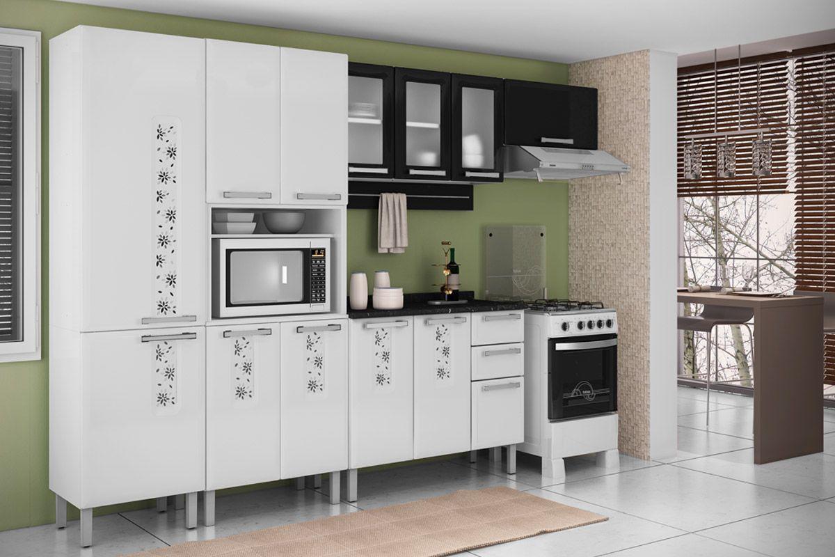 2788 28707 Armario De Cozinha Itatiaia Essencial Aco 3 Portas C