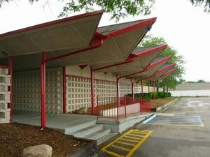 Folded Plate Roof Ala Donald Wexler Googie Architecture Googie Architecture