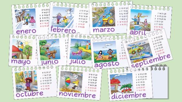 Months Spanish Video Elementary spanish classroom