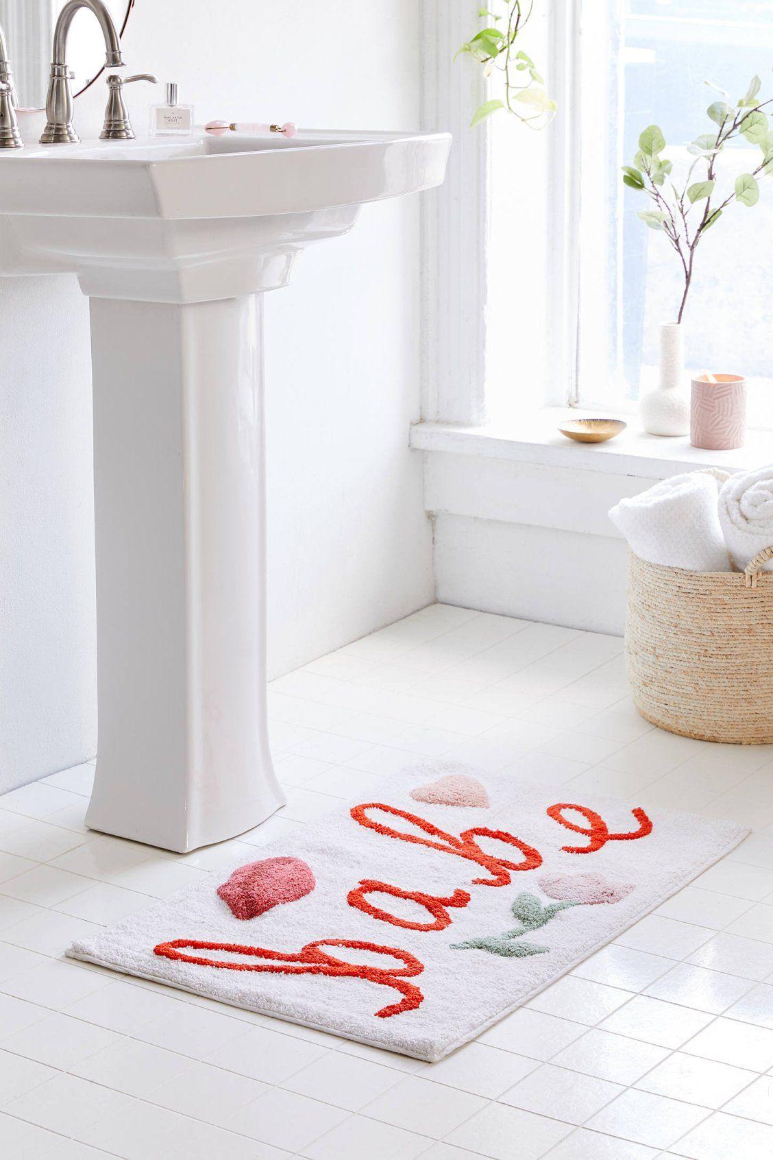 Babe Bath Mat Bathroom Rugs Purple Bathroom Rug Red Bathroom Rugs [ 1692 x 1128 Pixel ]