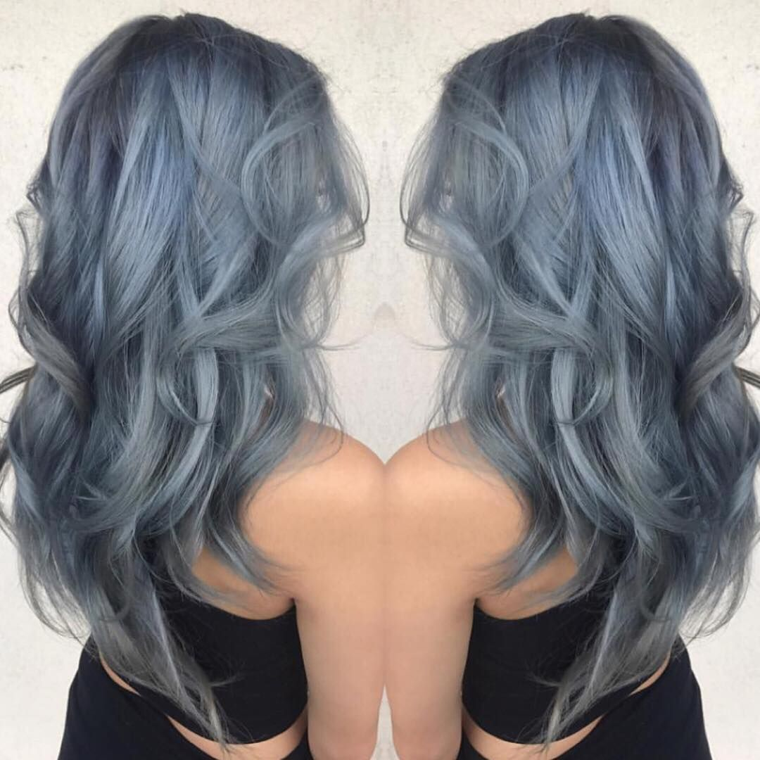 Vegan Cruelty Free Color On Instagram Cool Silver Blue Locks For Summa Time Hair By Brits Punky Barbie Achieve Something Similar With Periwinkle