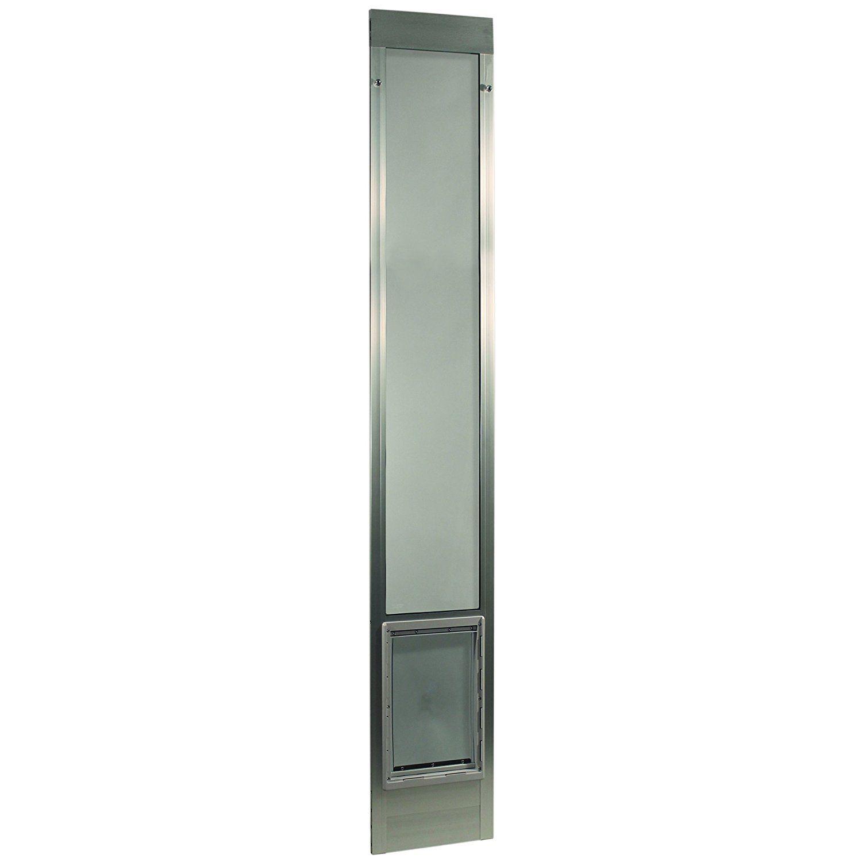 ideal pet products 96 fast fit aluminum pet patio door mill x