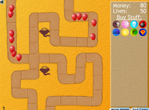 Bloons Tower Defence 2 Defense games, Tower defense, Games