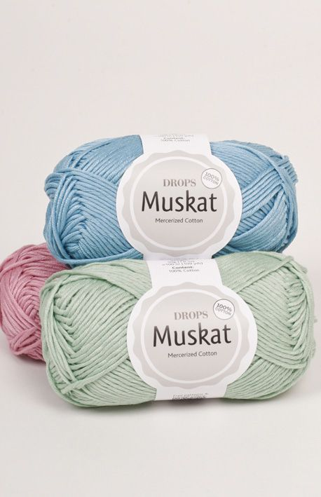 Drops Muskat Mercerisierte Baumwolle Mit Einem Schonen Glanz Mercerized Cotton Yarn Cotton Yarn Summer Yarn
