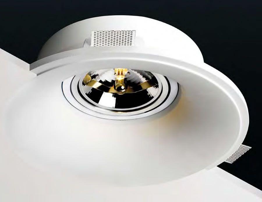 lmparas de yeso invisibles para techos falsos y de pladur iluminacion decoracion lamparas
