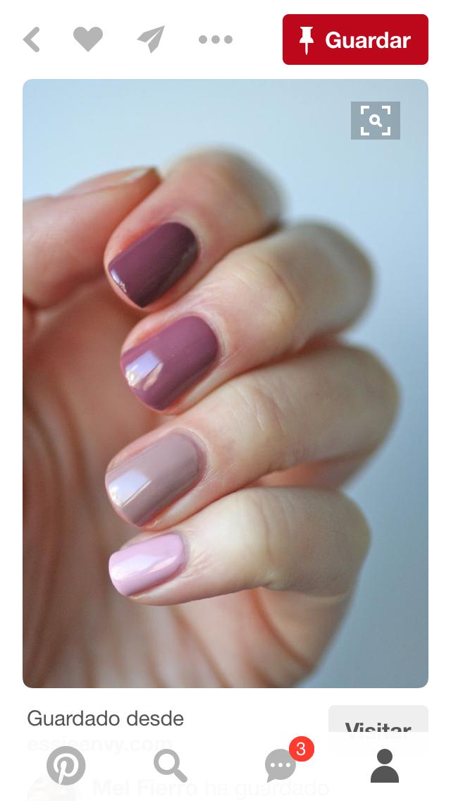Pin de Eugenia Guival en Nails designs | Pinterest