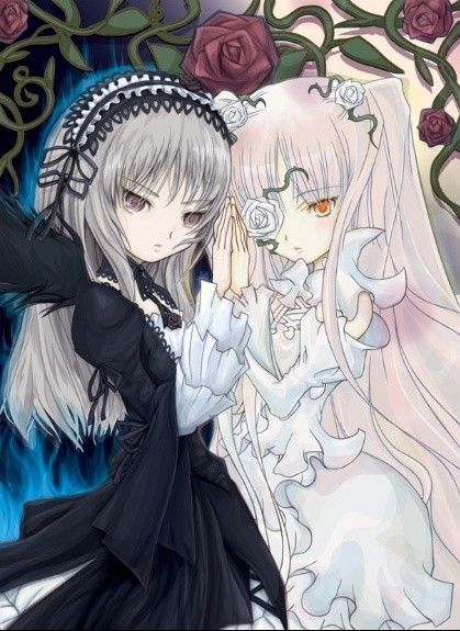 dessin manga ange et demon