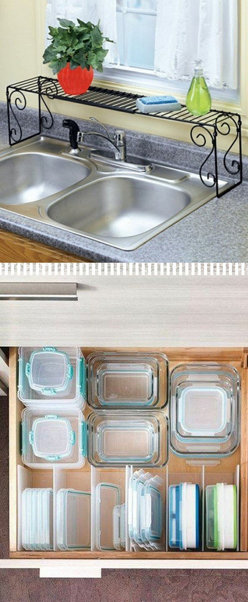20 DIY Kitchen Organization And Storage Hacks Ideas (10