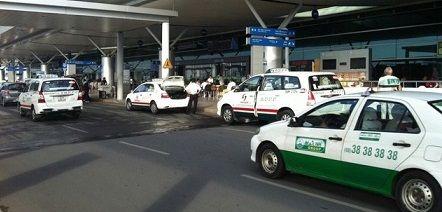 taxi sân bay Tân Sơn Nhất