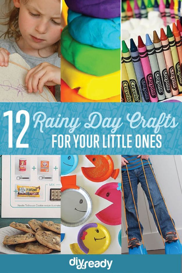 Lovely Fun Crafts On A Rainy Day