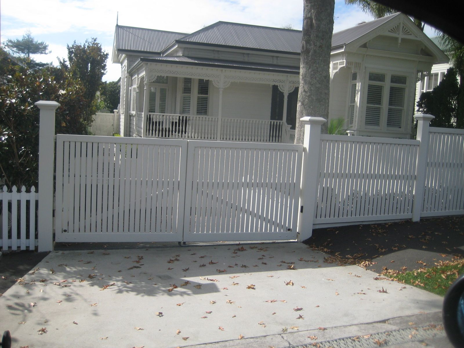 villa fences nz Google Search Houses Pinterest