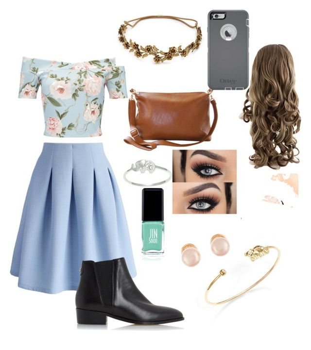 """""""My Hope For 2k16 Easter"""" by grace-marie3 ❤ liked on Polyvore featuring Miss Selfridge, Chicwish, Dune, Humble Chic, Jennifer Behr, OtterBox, Tai, Itsy Bitsy, Jin Soon and Kenneth Jay Lane"""