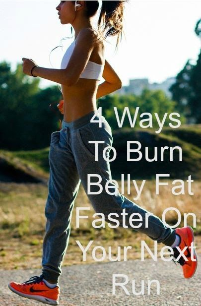 Burn fat with hot water