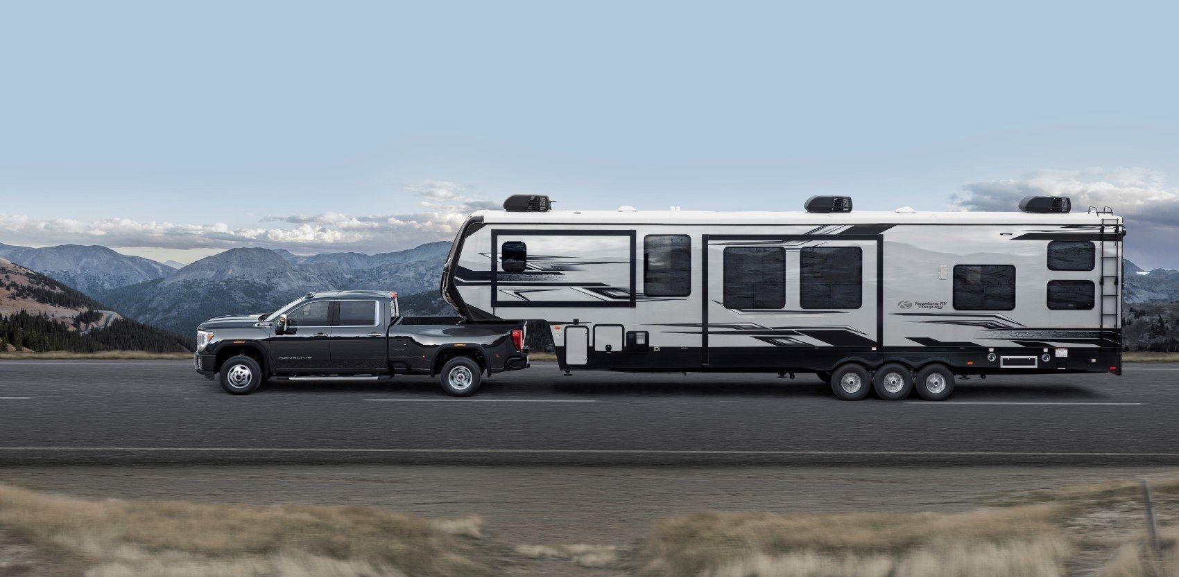2020 Gmc Sierra Hd New Towing Tech An Allison Upgrade Gmc Sierra Gmc Denali Truck
