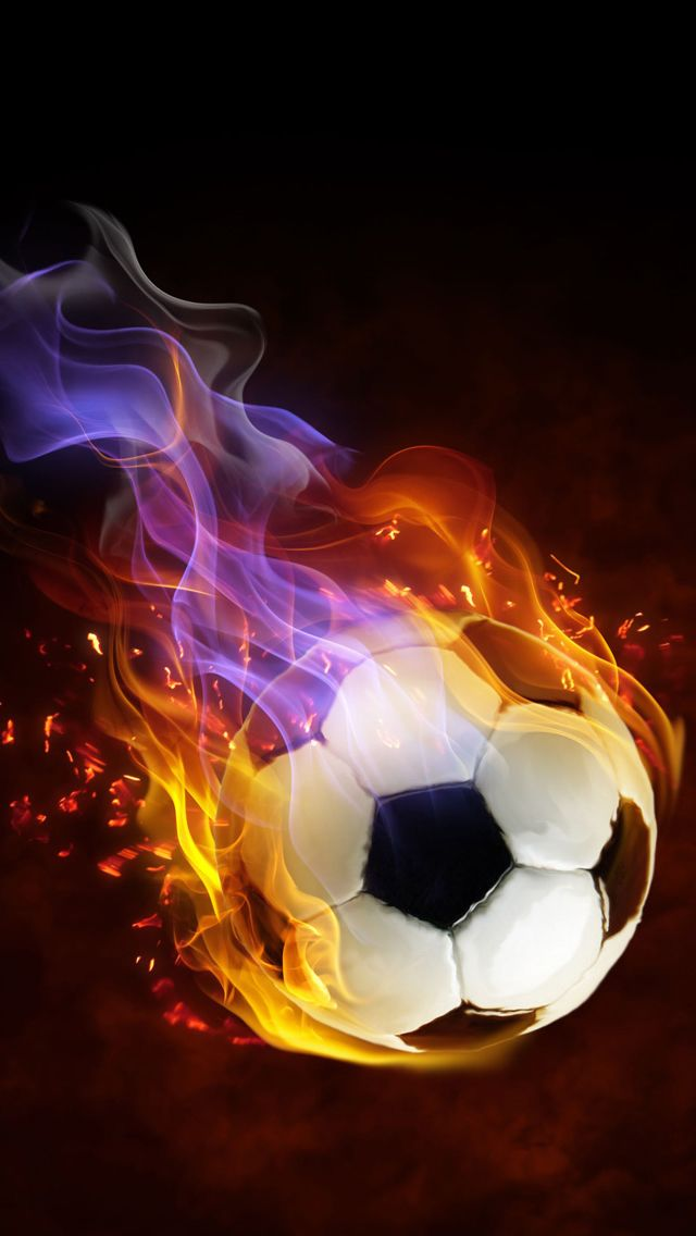 Football Abstract iPhone Wallpapers | Soccer ball