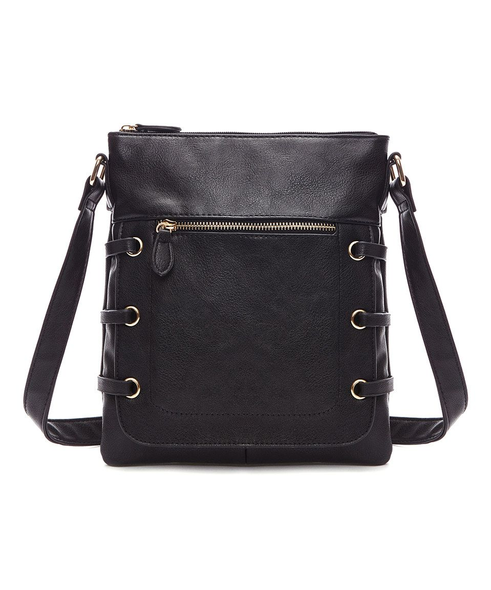 Look at this #zulilyfind! Fabulous Age Black Crossbody Bag by Fabulous Age #zulilyfinds