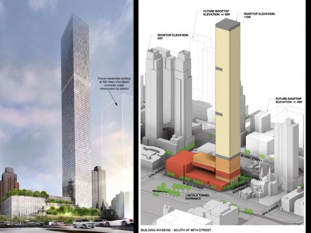 Bow Before Renderings Of NYC's Largest Apartment Building